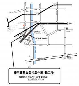 桂工場地図01